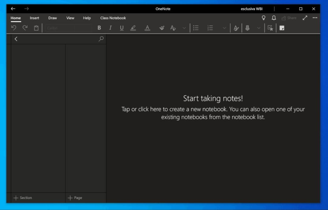Microsoft to Update OneNote with a Dark Mode