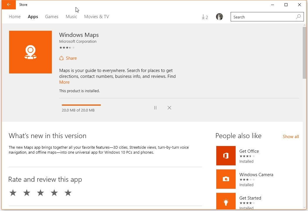 Microsoft Update Makes Windows 10 Maps App a Better Rival to
