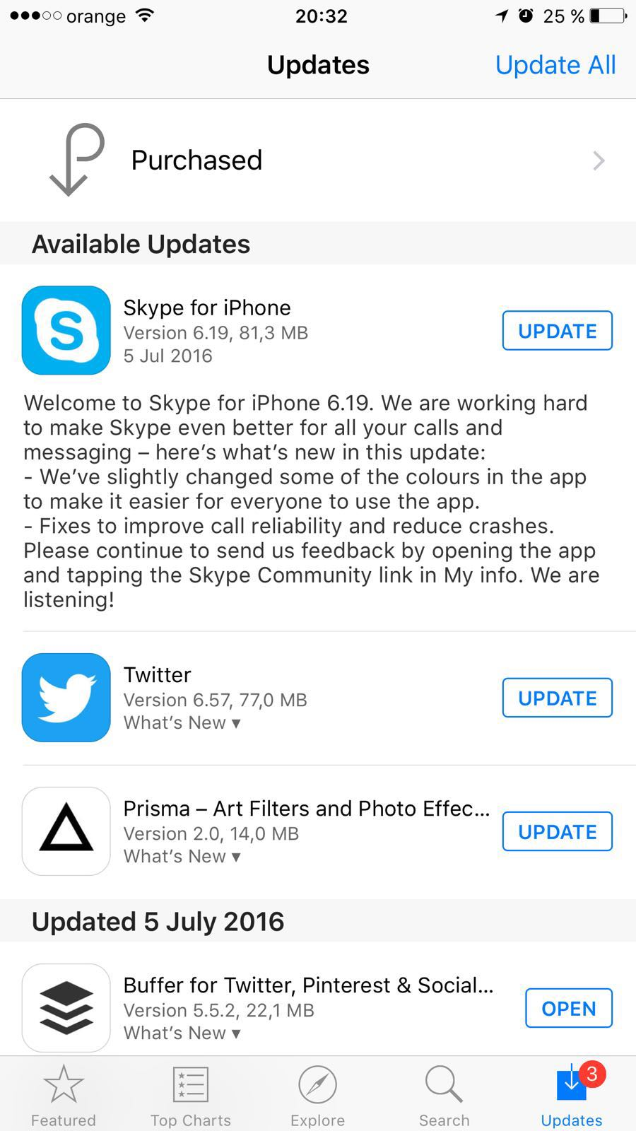 Microsoft Updates Skype for iPhone with Improved UI