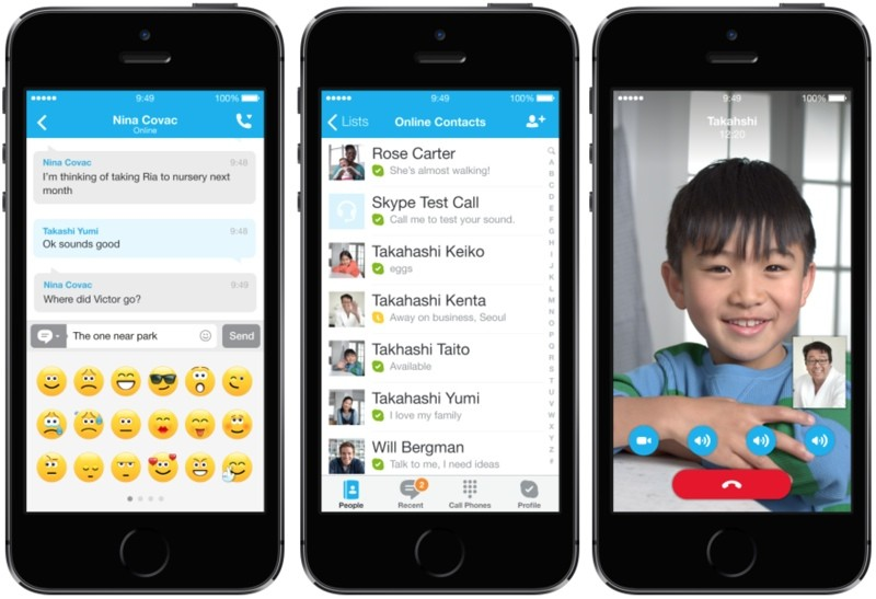 Microsoft Updates Skype for iPhone with New Features