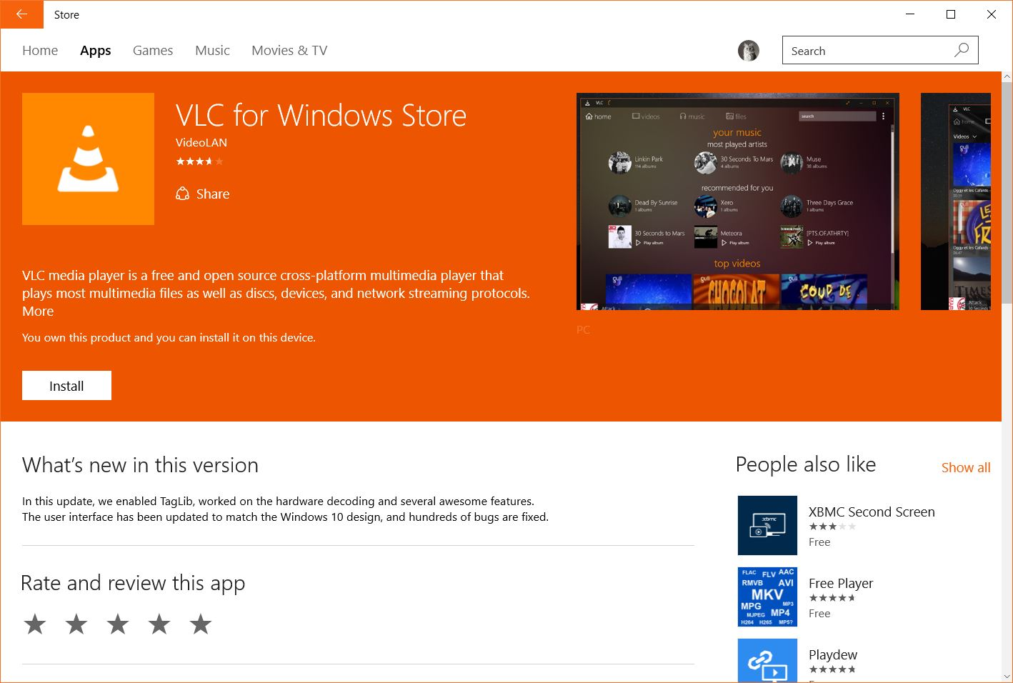 microsoft updates windows 10 store with background color themes