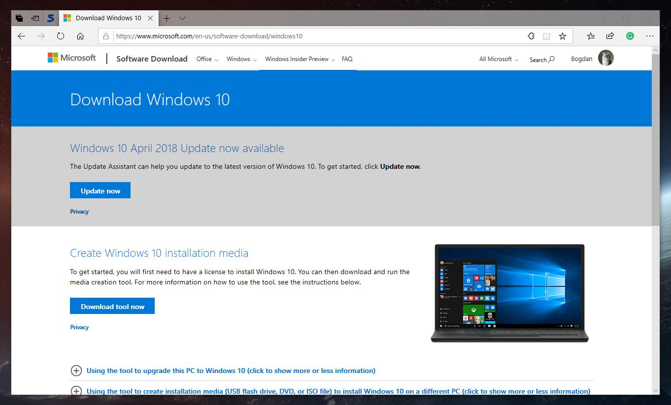 microsoft will release windows 10 version 1809 isos when