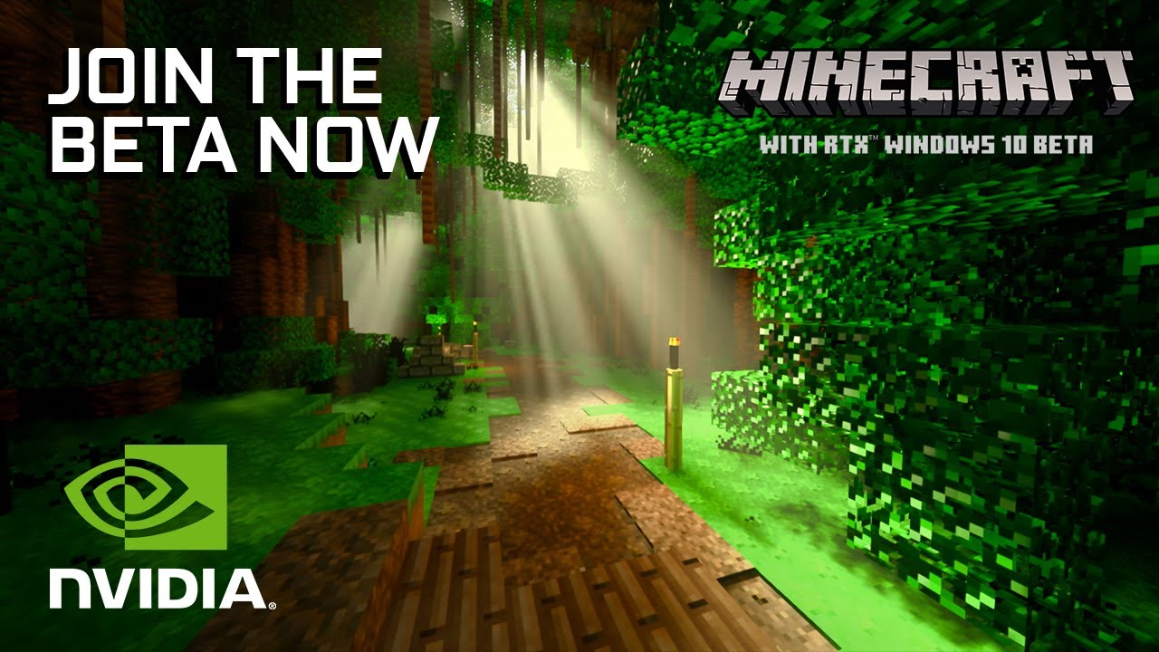 Minecraft with RTX Beta Game Ready Driver Is Out - Get GeForce 12.12