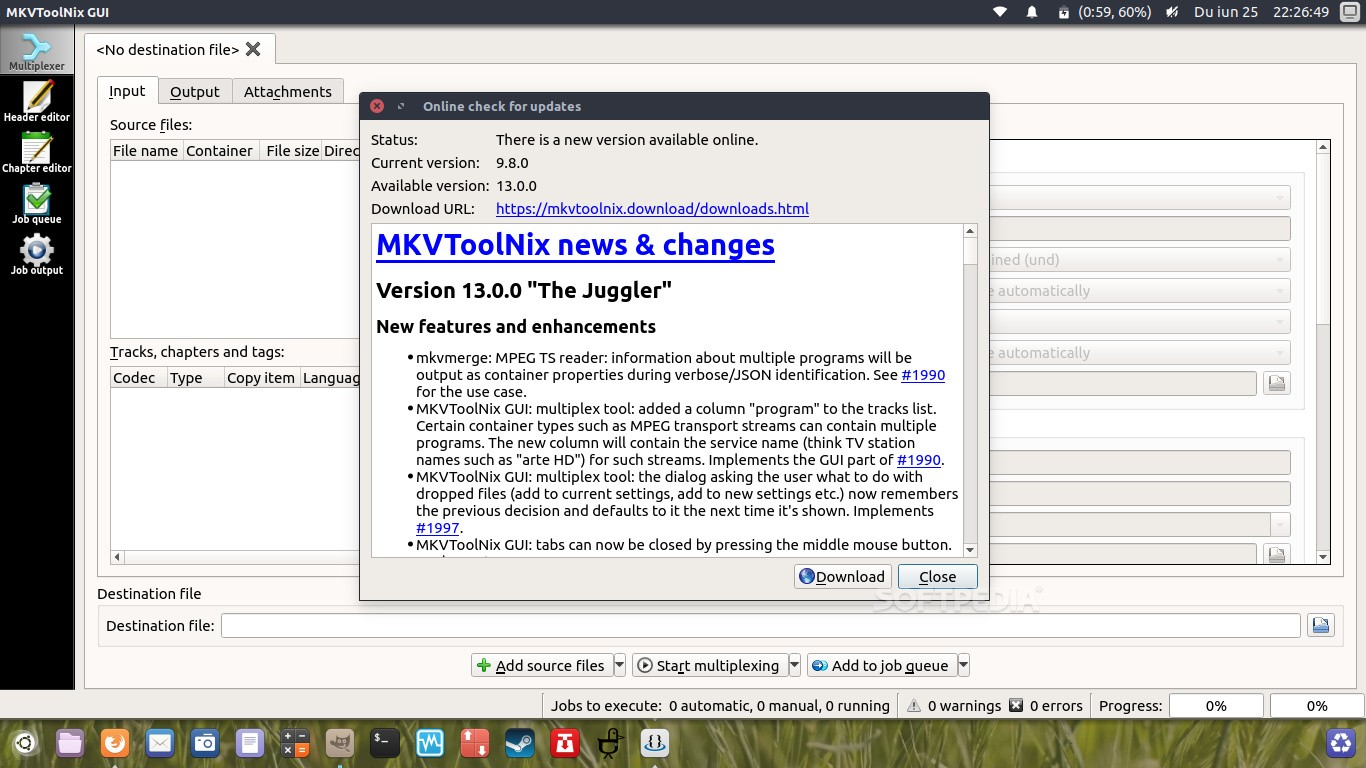 MKVToolNix 13 0 0 Open-Source MKV Manipulation Tool Brings