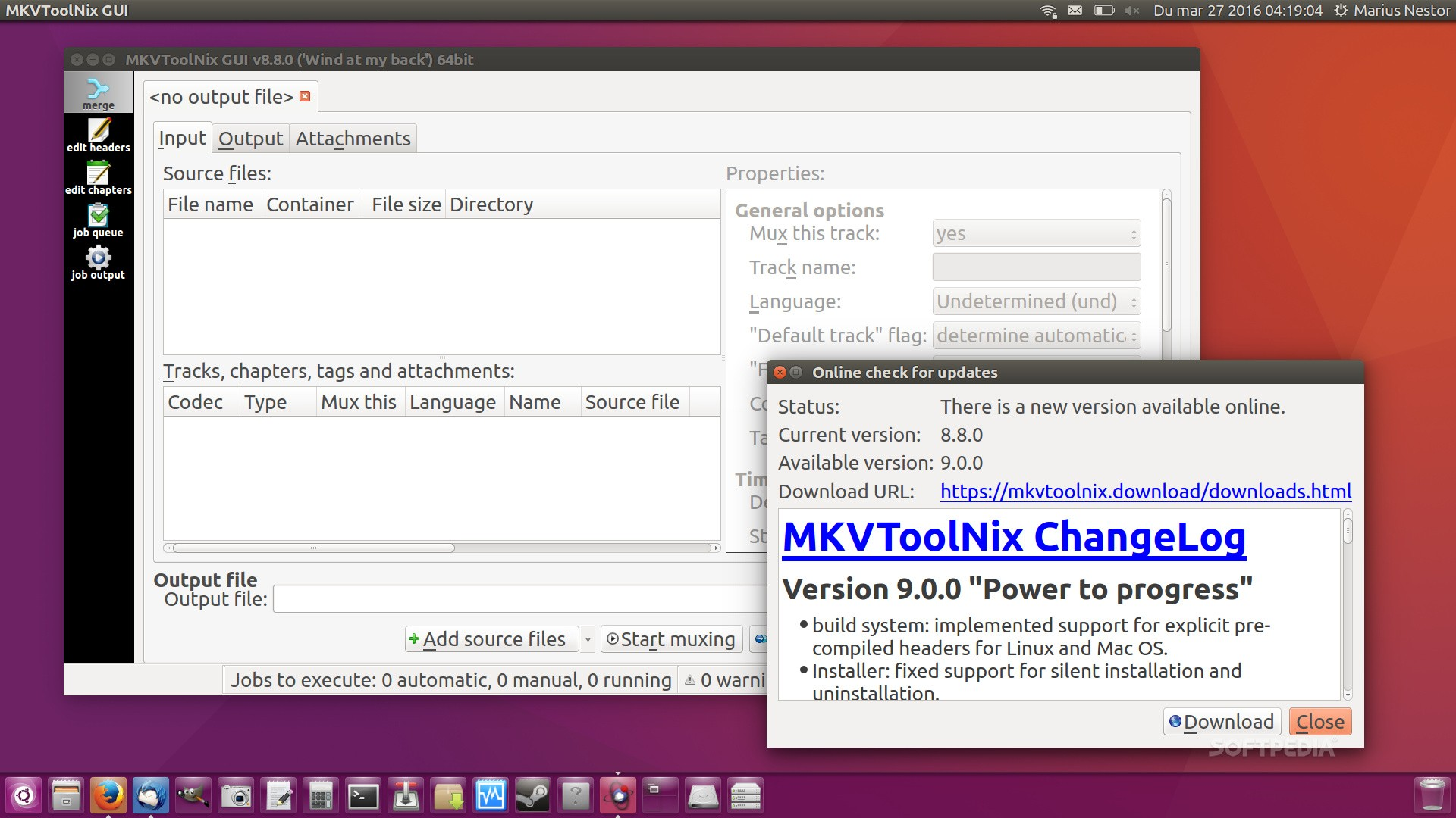 MKVToolNix 9 0 0 Open-Source MKV Manipulation Tool Released with New
