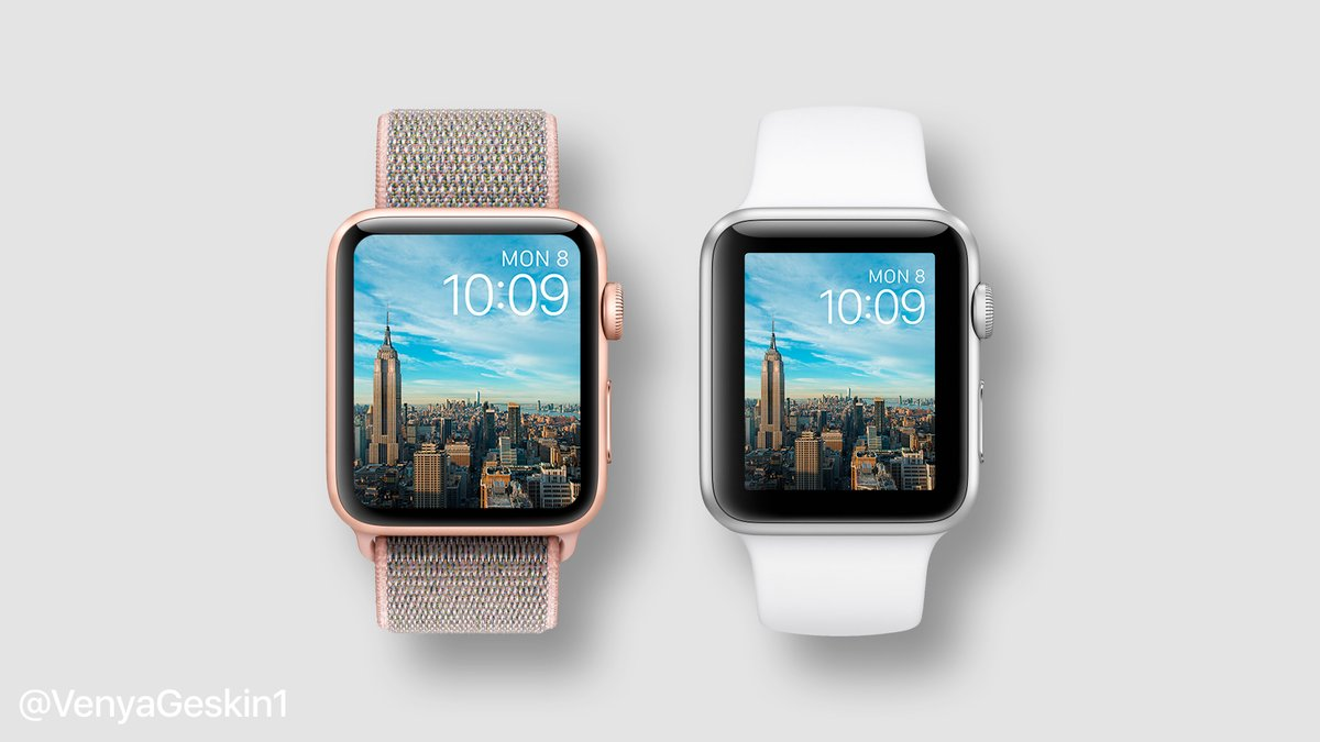 Mockups Envision Apple Watch Series 4 with Smaller Bezels ...