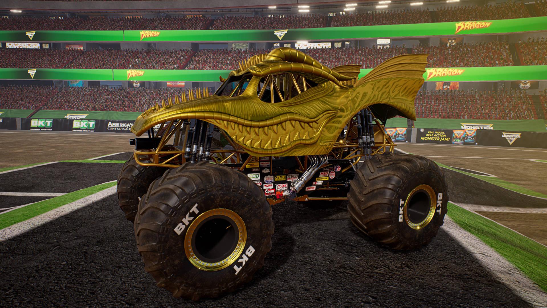 Monster Jam Steel Titans Races Its Way