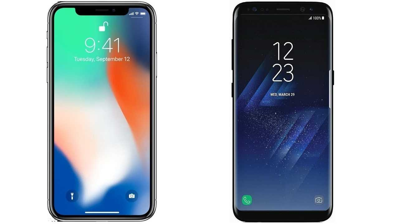 More People Want a Samsung Galaxy S8 than an iPhone X for Christmas
