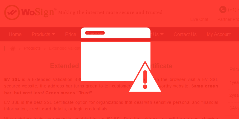 Mozilla Brings Down The Ban Hammer On Wosign Startcom Certificate