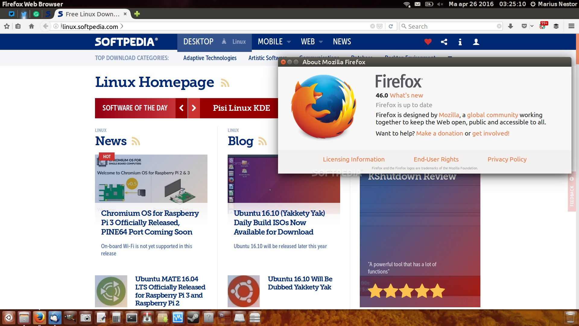 firefox linux download