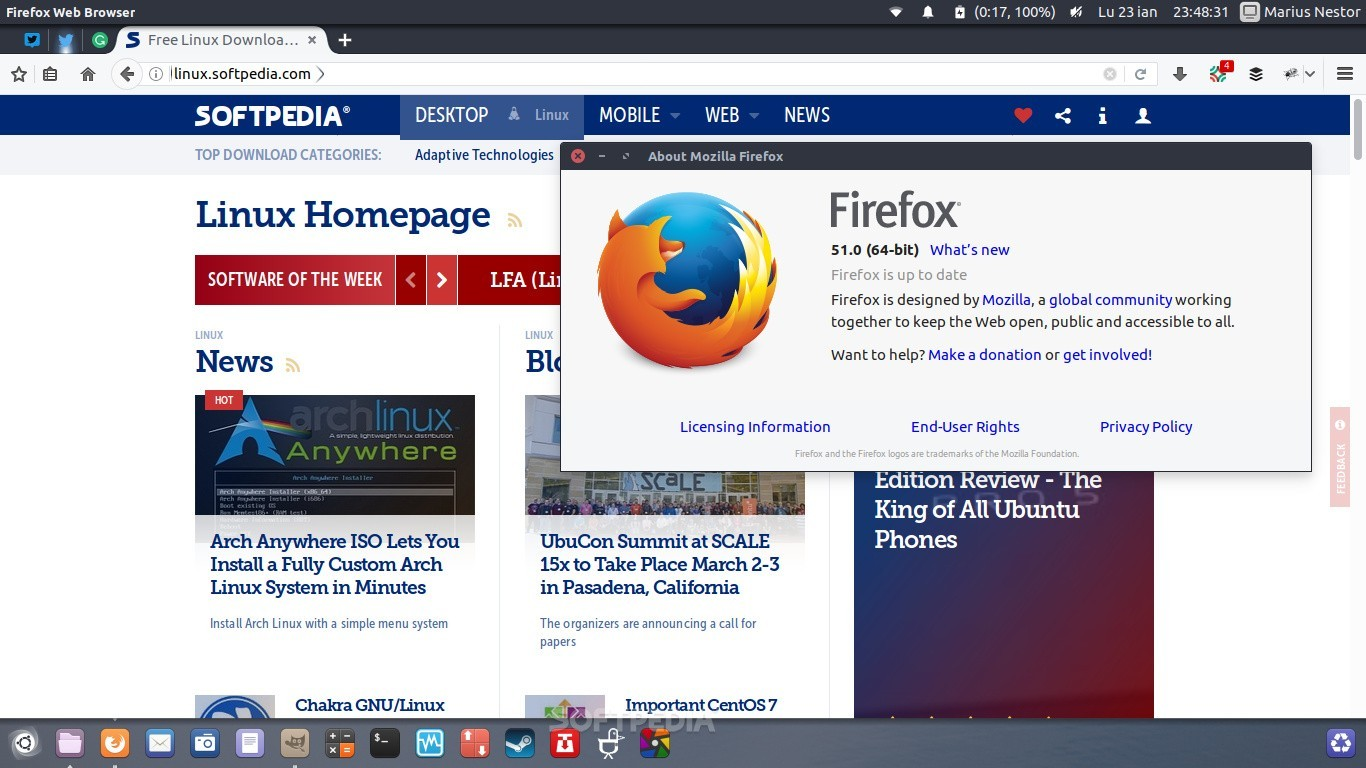 Mozilla Firefox 51 Is the First Web Browser to Support the