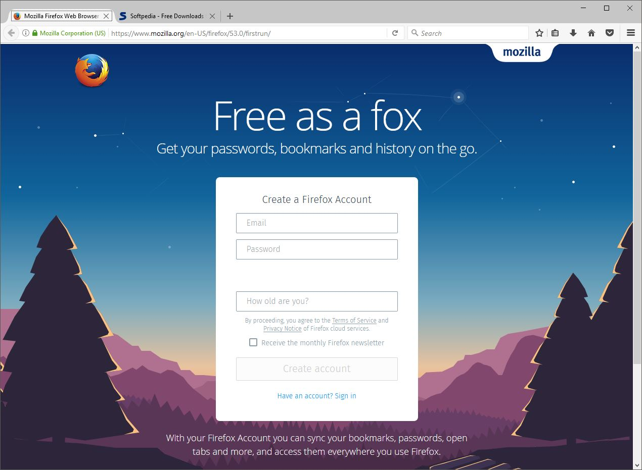 Mozilla Firefox 53 Now Available for Download