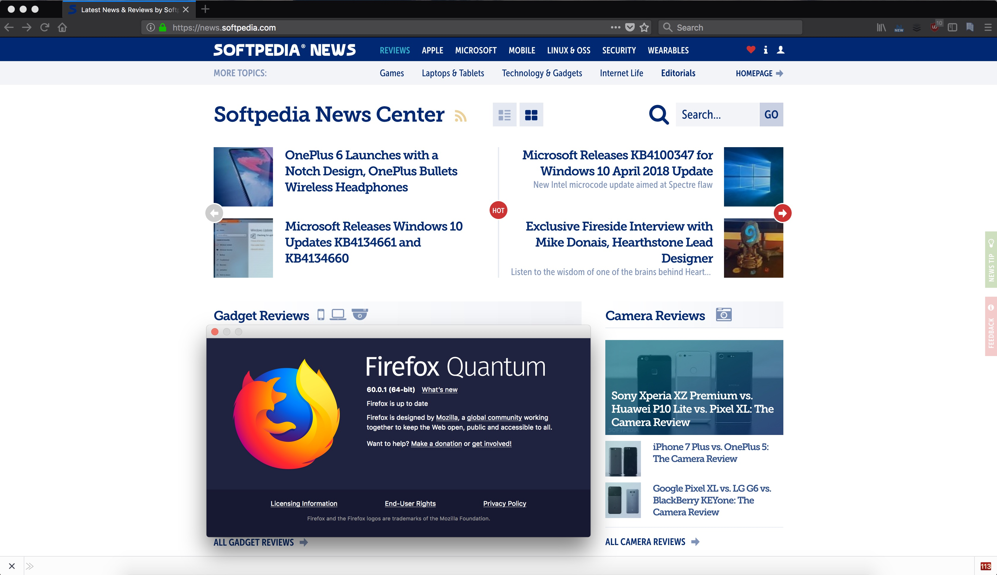 Mozilla Firefox 60 0 1 Released with Many Improvements, Disables