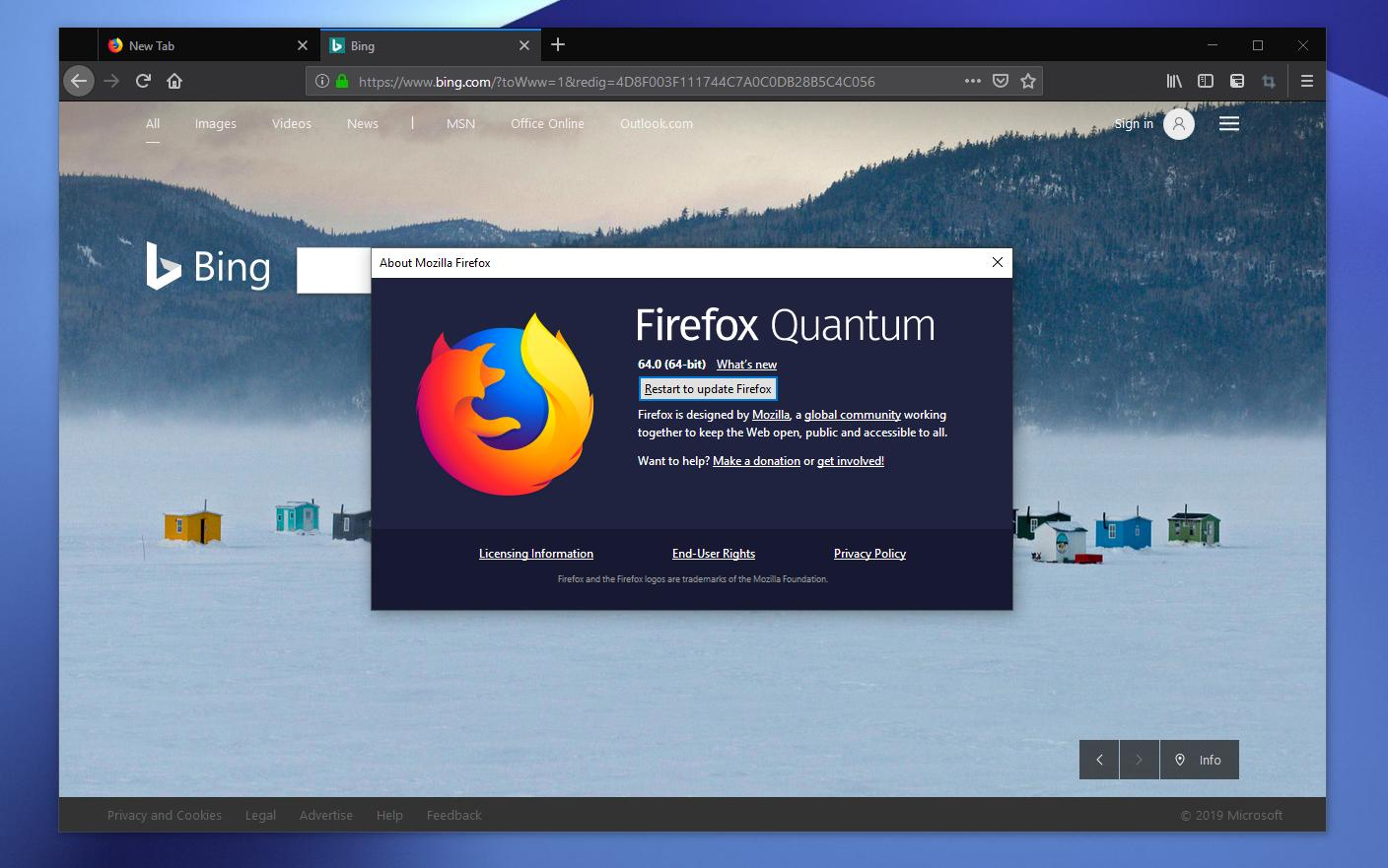 Mozilla Firefox 64 0 2 Now Available for Download on Windows
