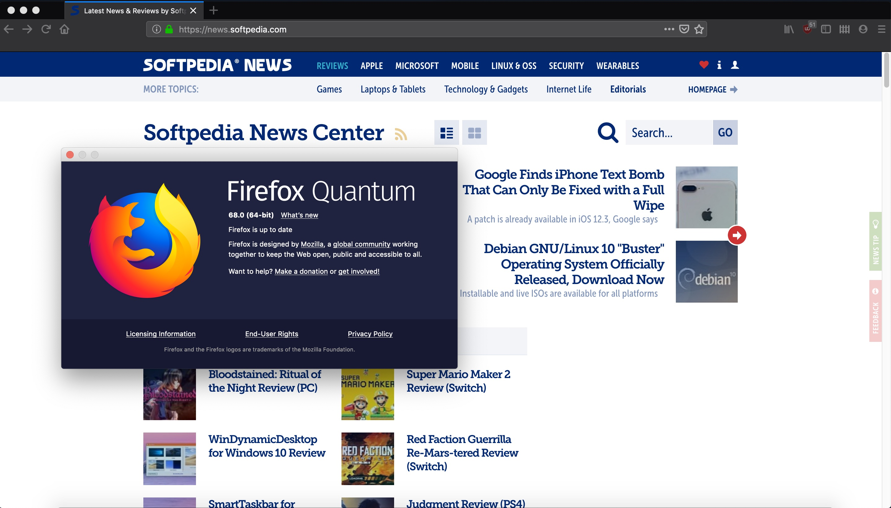 Mozilla Firefox 68 Is Now Available to Download for Linux