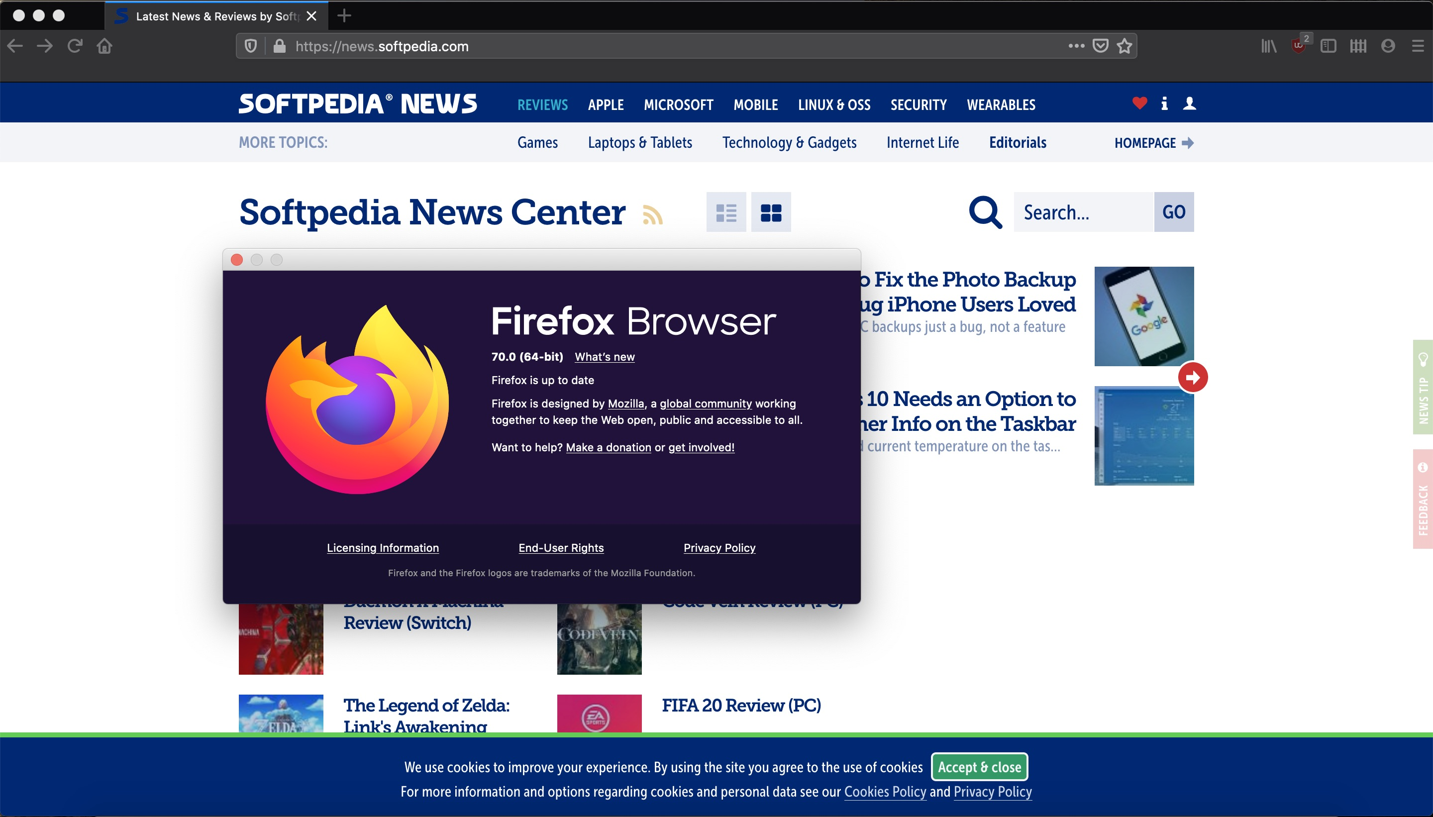 Mozilla Firefox 70 Is Now Available For All Supported Ubuntu