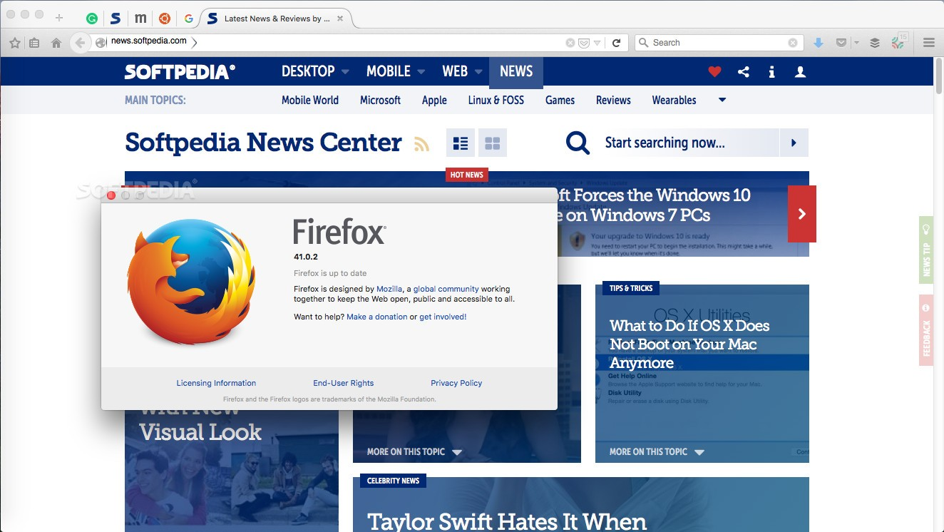 Mozilla Releases Firefox 41 0 2 Hotfix to Fix a High Impact