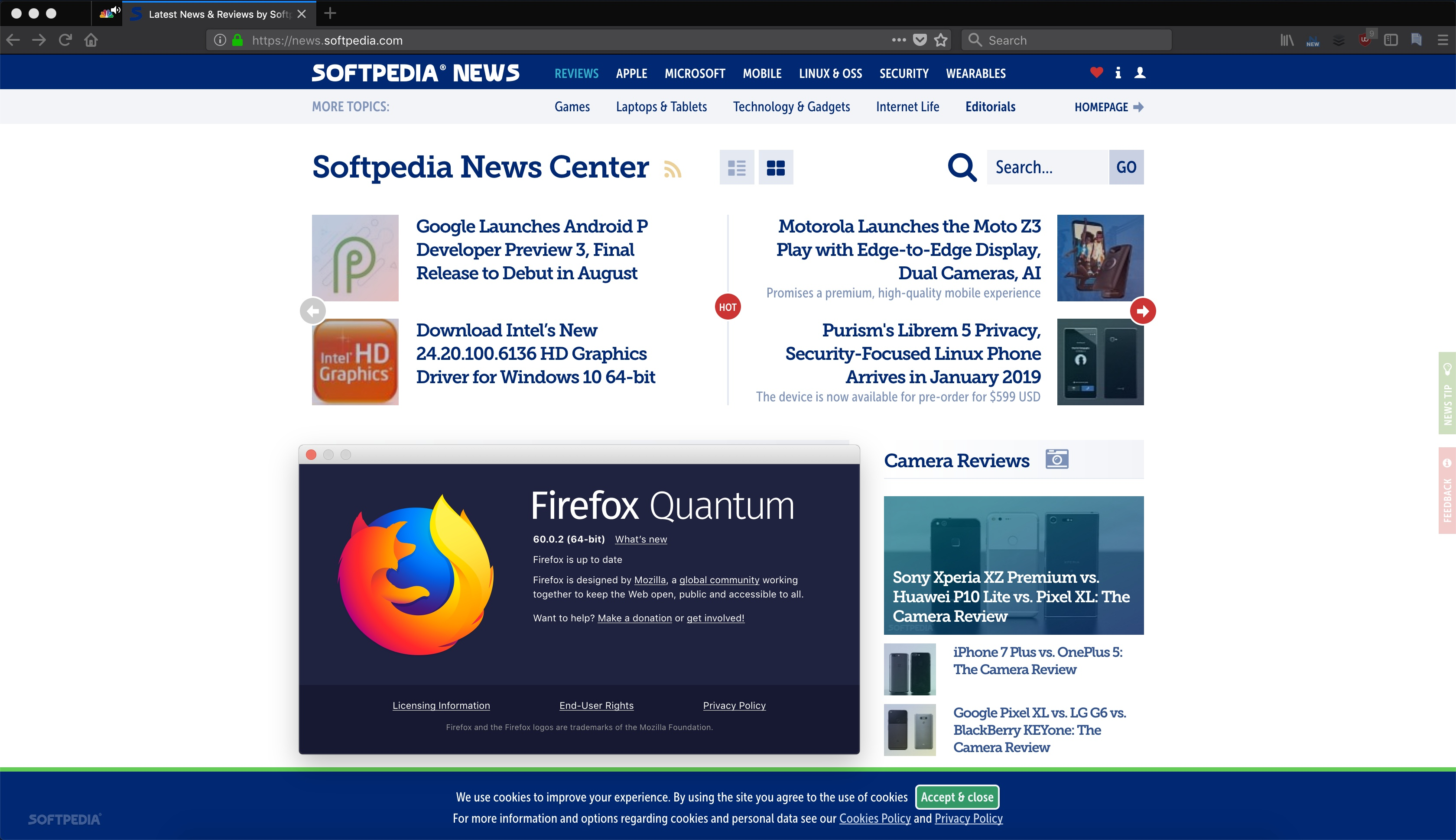 Mozilla Releases Firefox 60 0 2 for Linux, Windows, Mac, and Android