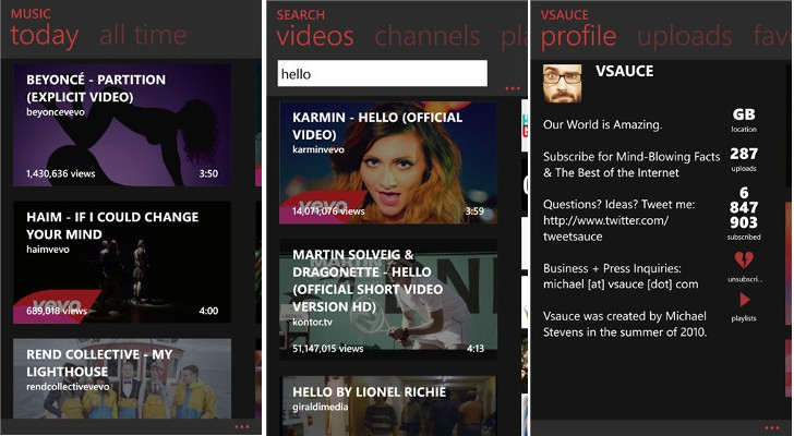 myTube for Windows Phone Is Free for 24 Hours, Download Now