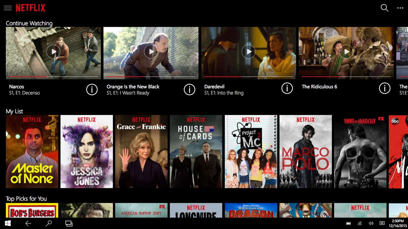 Netflix Releases Offline Viewing and Download Support for