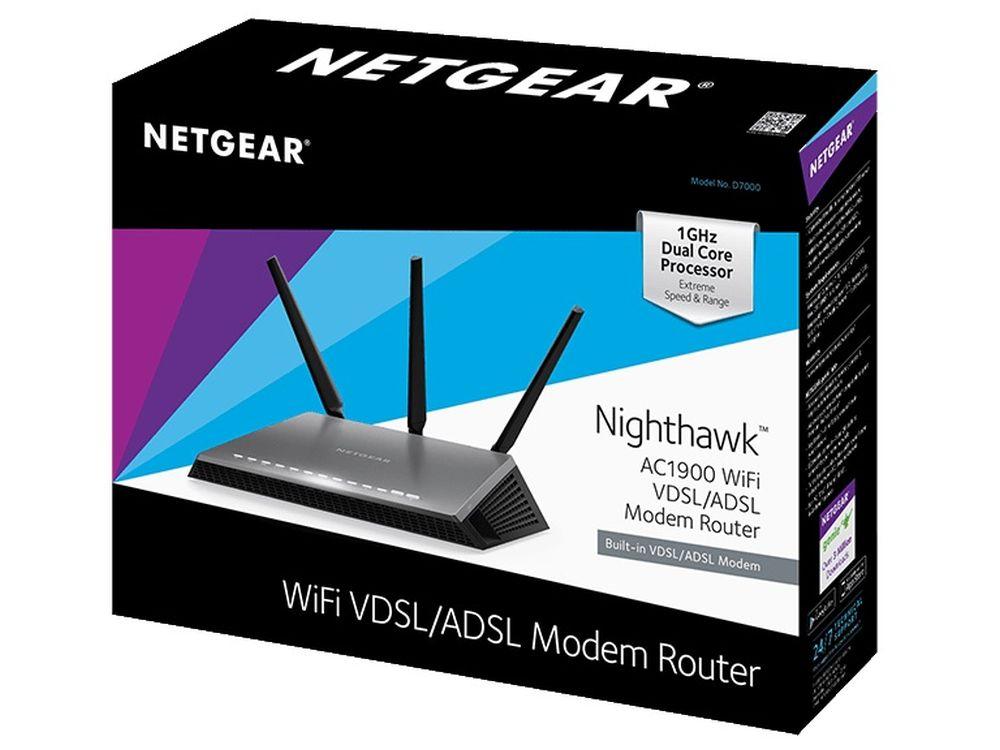 NETGEAR's D7000 Router Receives Firmware Version 1 0 0 18