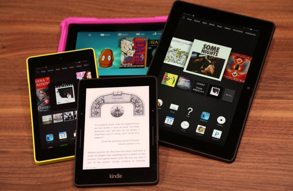 New Firmware For Amazon Kindle Tablets
