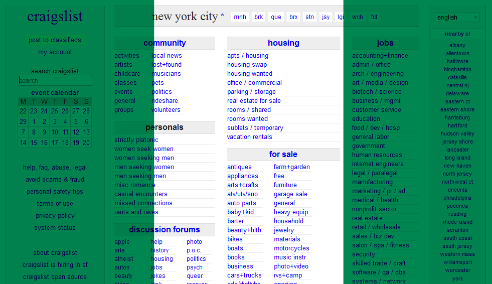 Nigerians Are Responsible for Two-Thirds of Craigslist US