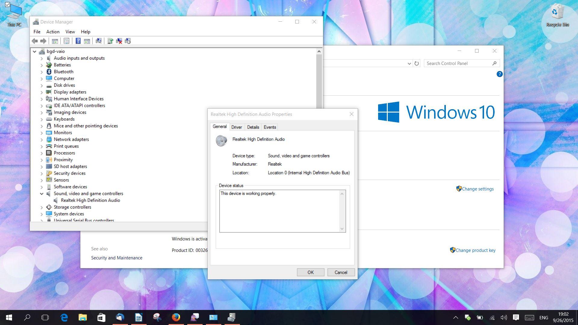 windows 10 videos have no sound