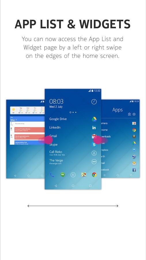Nokia Z Launcher Beta Update Adds Visual Feedback More