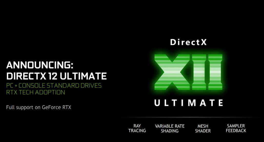 NVIDIA GeForce Game Ready driver now supports DirectX 12 Ultimate features