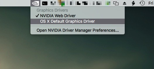 NVIDIA Rolls Out New Quadro & GeForce Drivers for OS X El