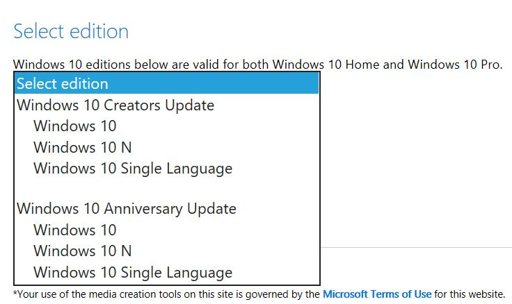 Official Windows 10 Creators Update ISO Now Available for Download