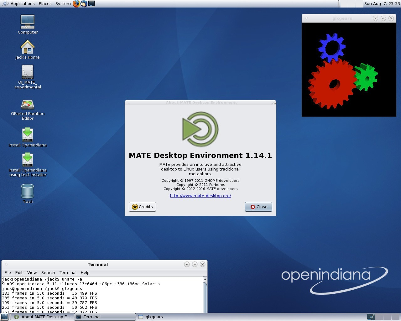 OpenIndiana 2016 10 Unix OS Migrates to FreeBSD Loader, Adds MATE