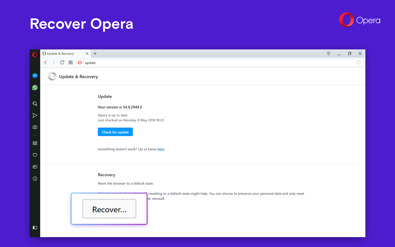 Opera 54 Web Browser Launches with News on the Speed Dial, Improvements
