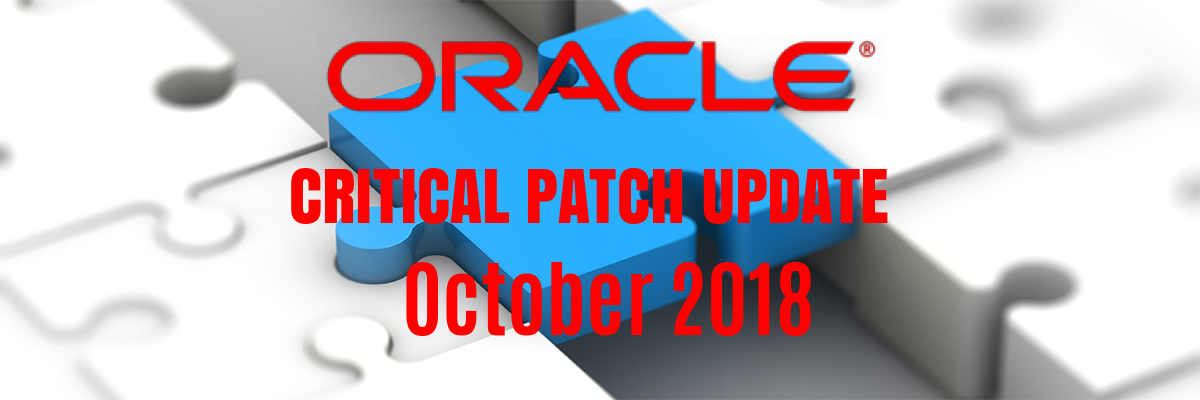 oracle patch release october 2018
