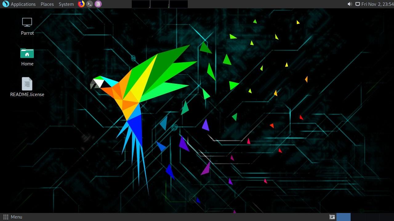 Parrot Hacking OS