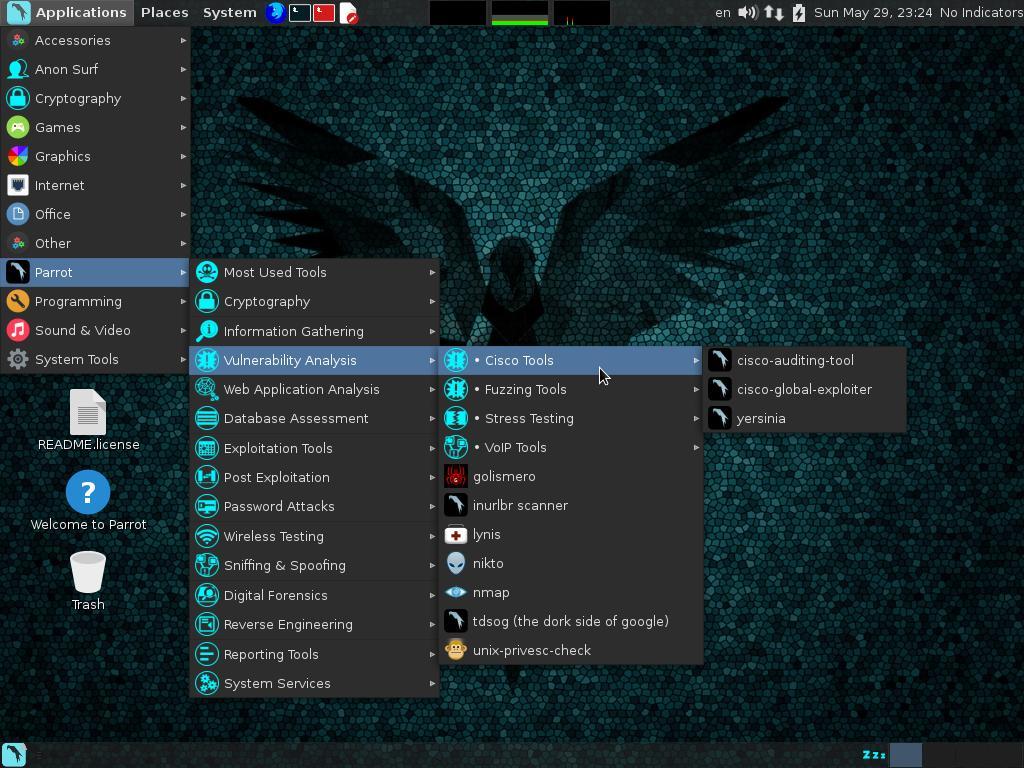 Cryptographic accelerator linux distro