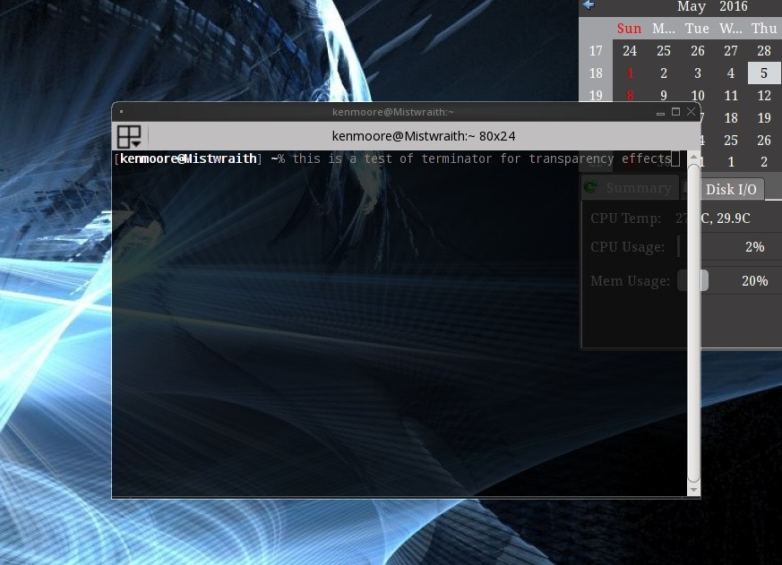 PC-BSD's Lumina Desktop 0 9 0 Environment Launches with Compositing