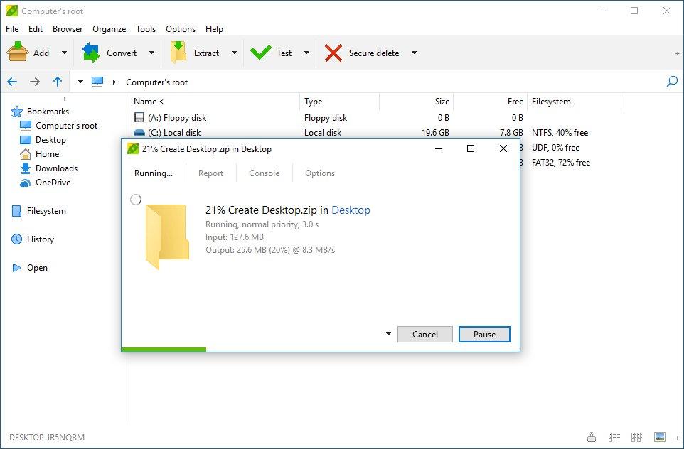 PeaZip 6 3 0 Free Archiving App Improves DPI Awareness, Adds
