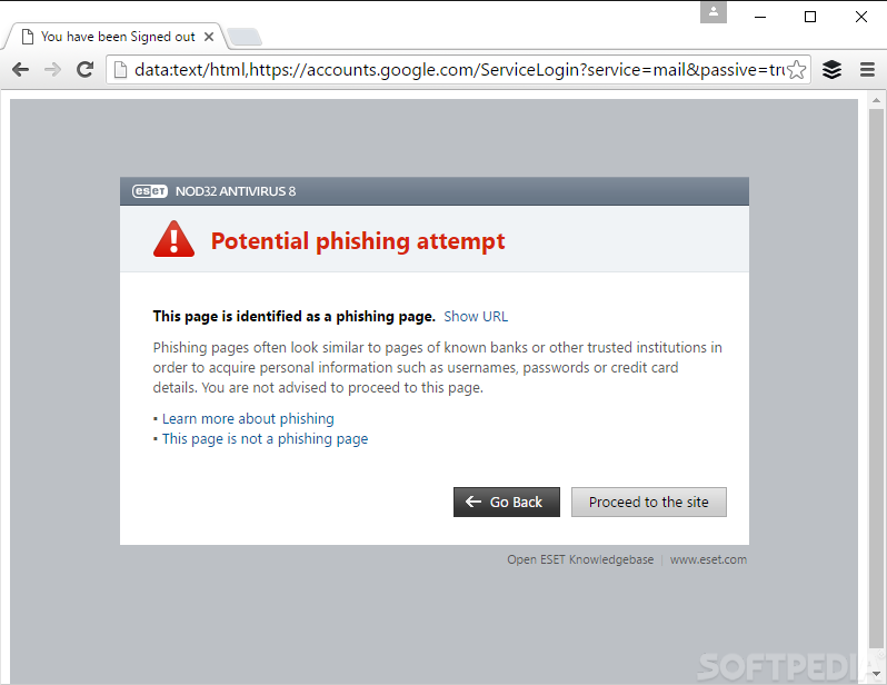 Phishing Trick Targeting Google Relies on Data URIs to Mask the