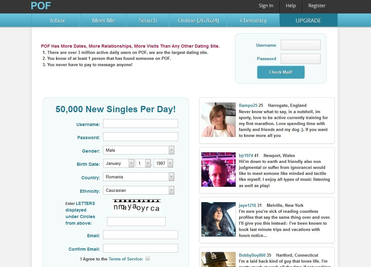 List of free dating sites in usa without payment