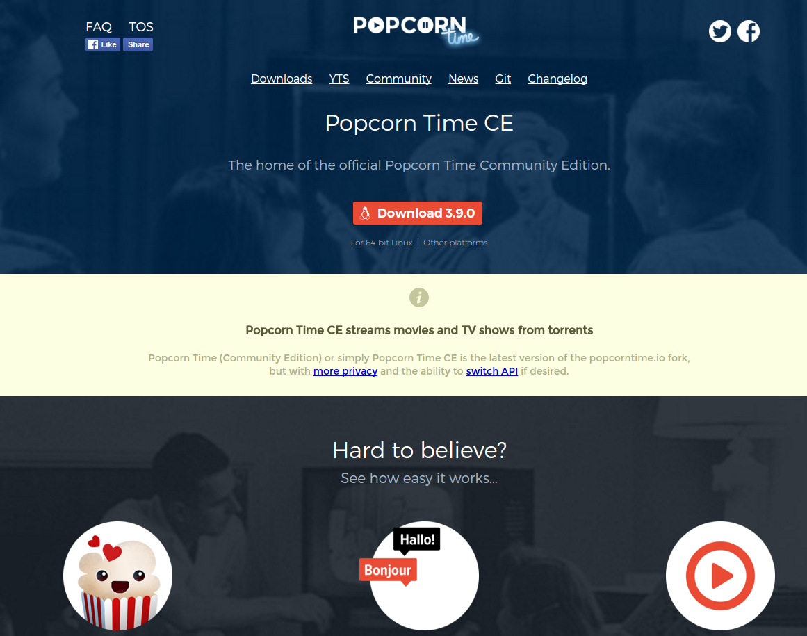 Popcorn Time Multiple Projects with Malware Are a Trap for Users