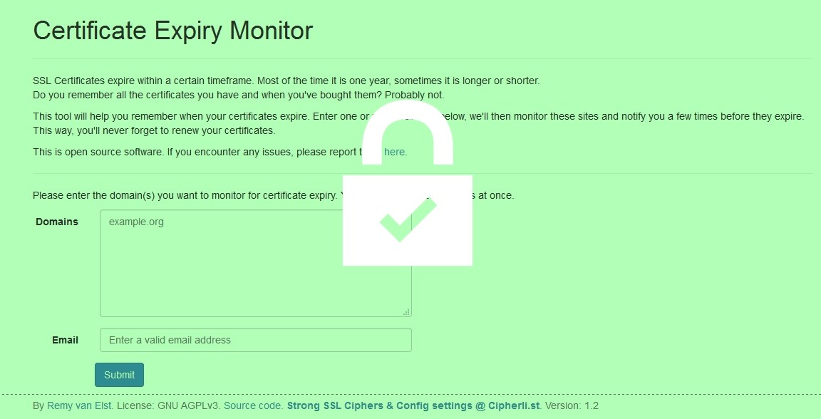Prevent Certificate Blunders With The Certificate Expiry Monitor