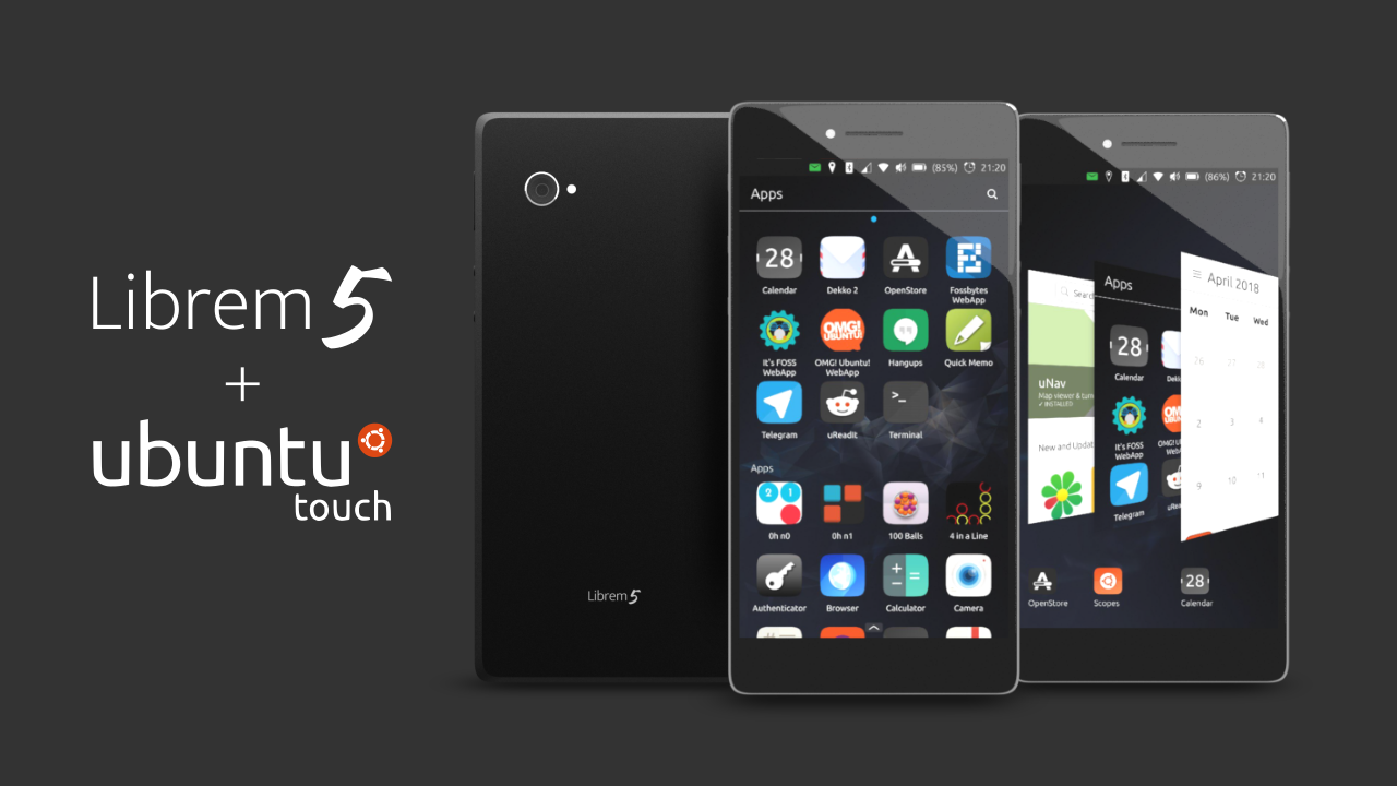 Purisms librem 5 linux phone will support ubuntu touch thanks to librem 5 running ubuntu touch stopboris Choice Image