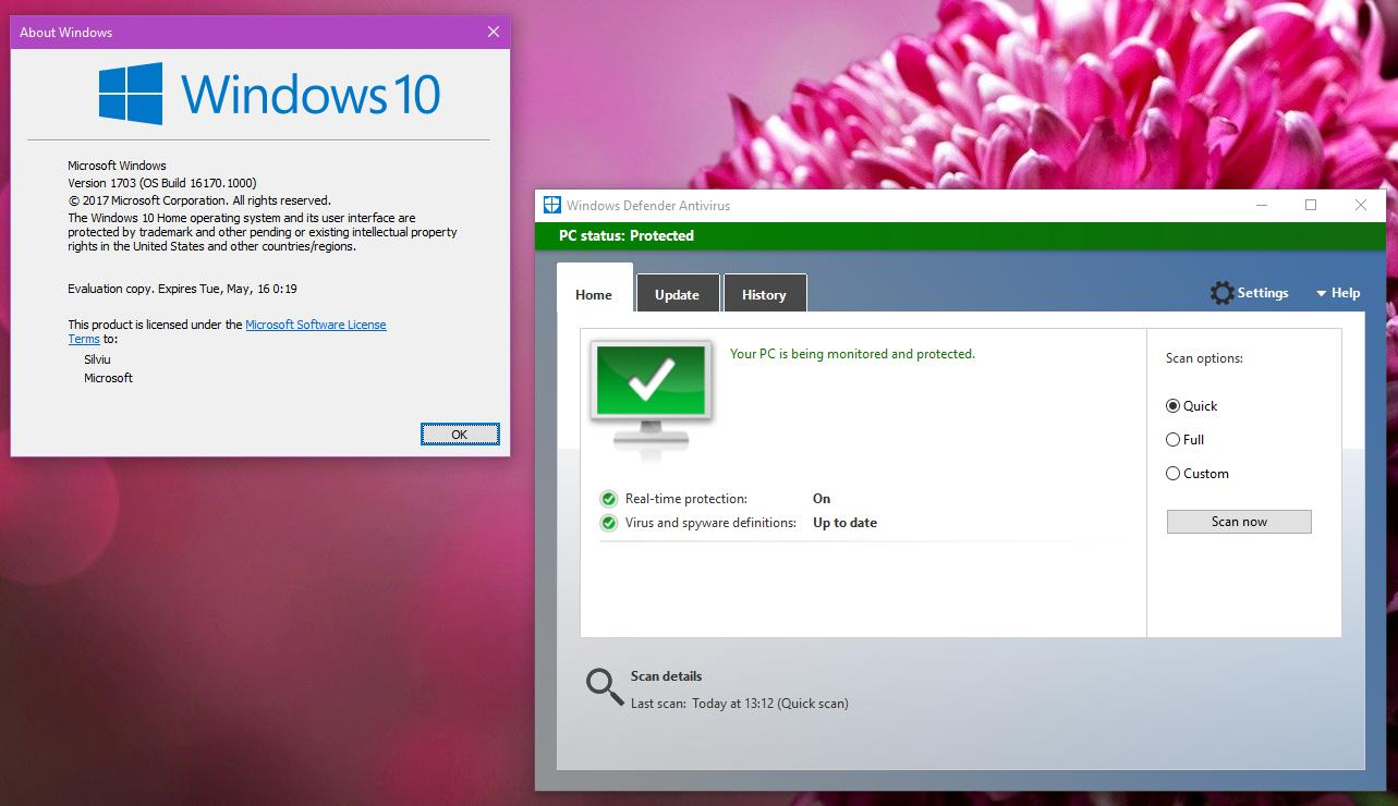Quick Tip: Use the Old Windows Defender in Windows 10 Creators Update