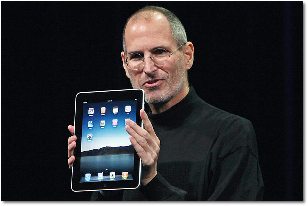 Jobs Launching The First IPad