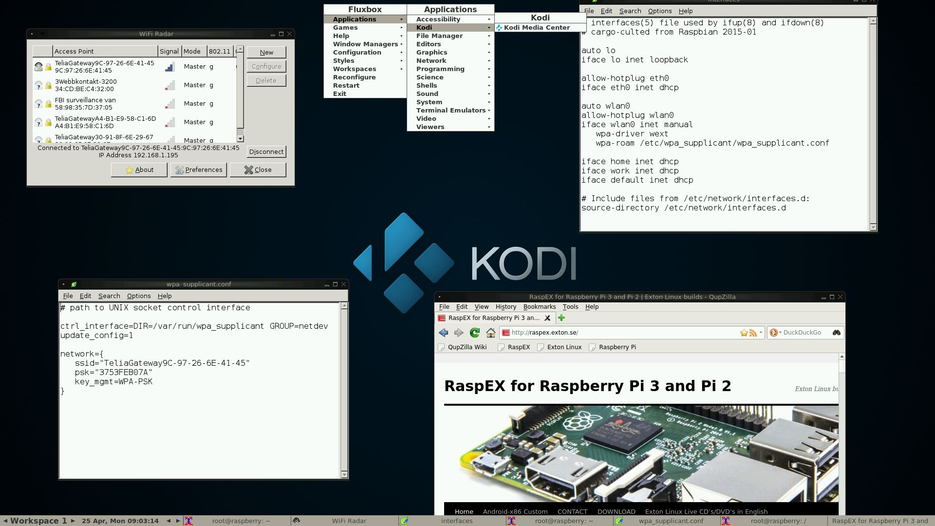 RaspEX, Ubuntu 16 04 for Raspberry Pi 3 and 2, Now Includes