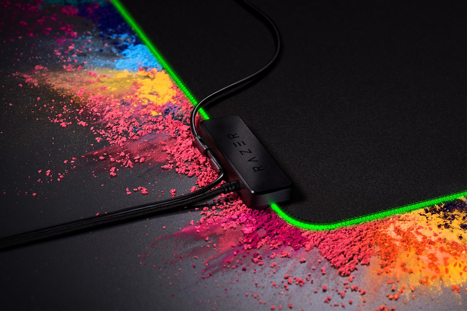 Razer Goliathus Chroma Is The Led Powered Mouse Mat You Didnt Know Mousepad Gaming Pad Gamers Game Extended