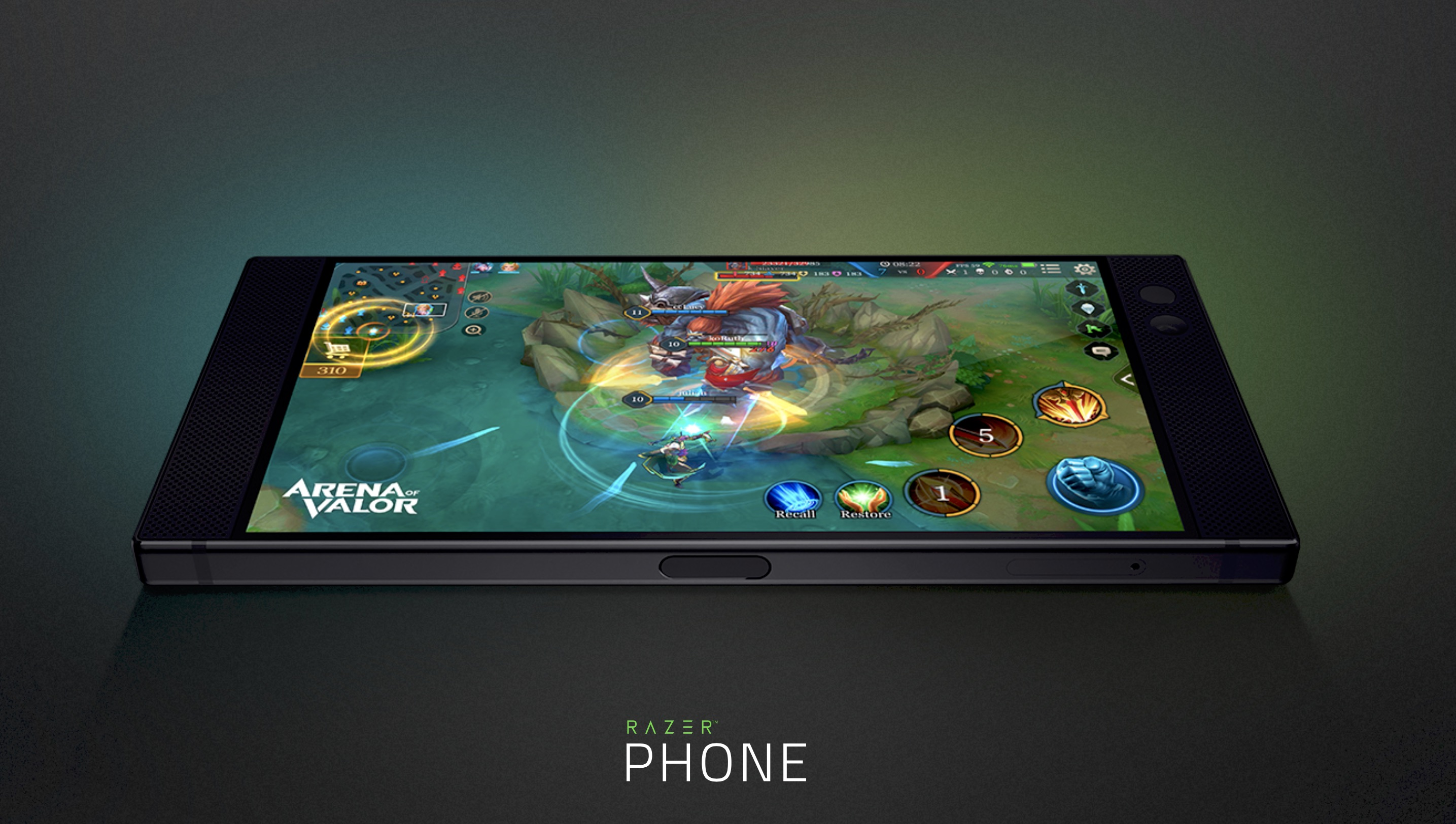 Razer Phone Is a Powerful Android Gaming Device Featuring