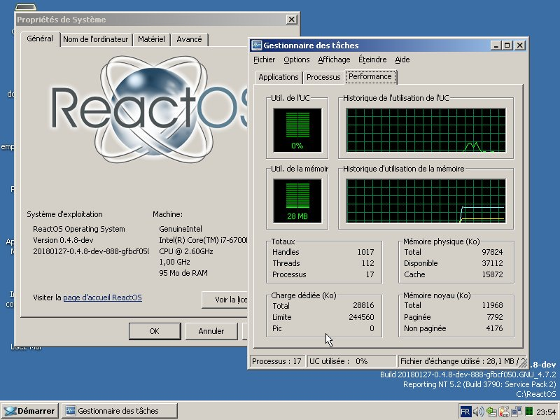 ReactOS Is Adding Support for Windows 10 and 8 Apps, NTFS Driver